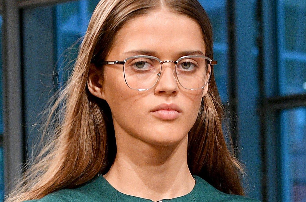 Vintage Brillen runde Gesichter