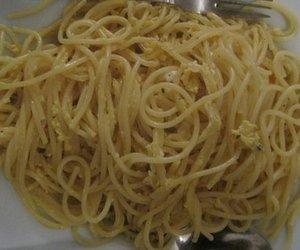 Spaghetti mit Ei