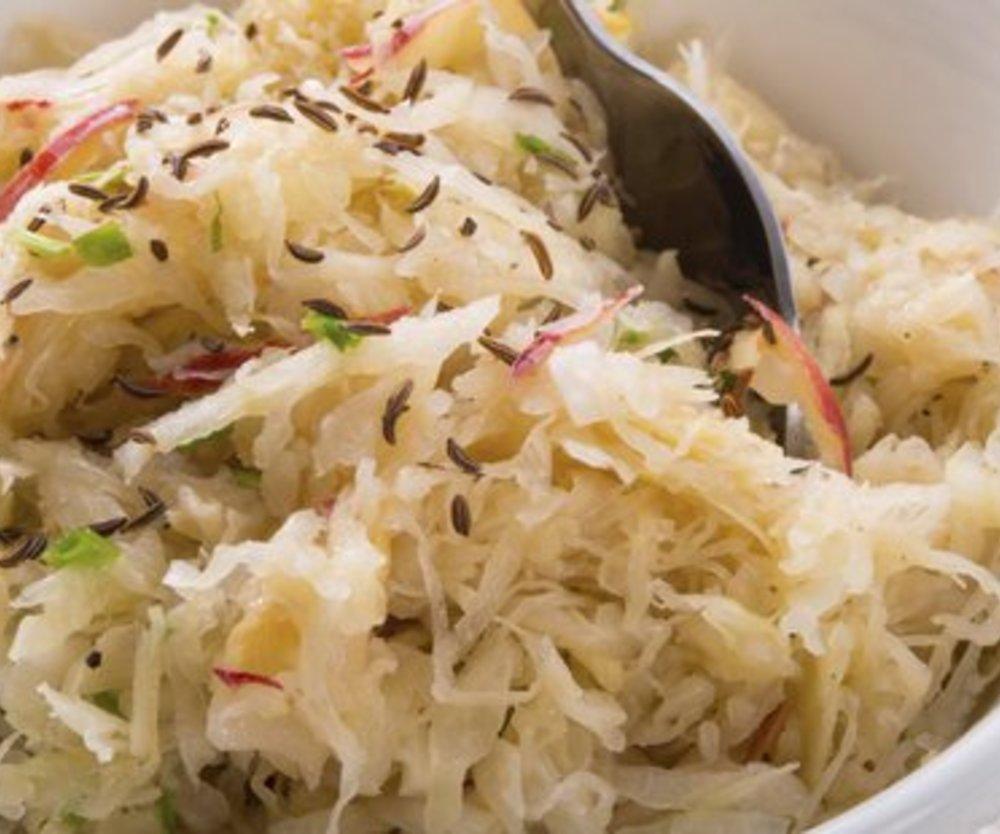 Sauerkraut verfeinern