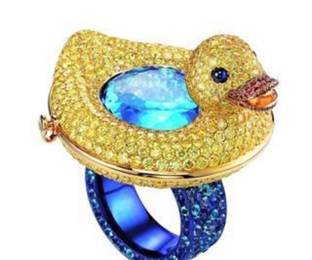 Quietscheenten-Ring von Chopard
