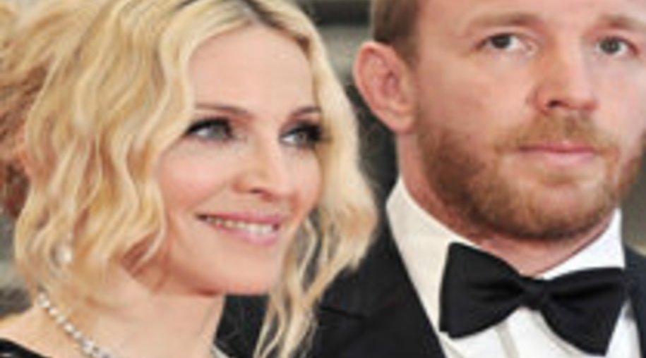 Madonna glücklich