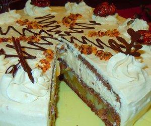 Birnen-Karamell-Torte