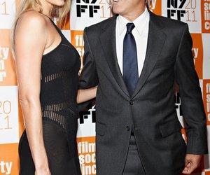 George Clooney mit Freundin auf dem roten Teppich