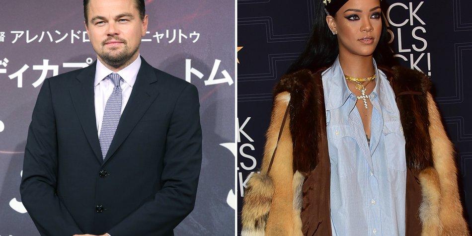 Leonardo DiCaprio und Rihanna_Yuriko Nakao_Getty Images-517030214_Brian Killian _Getty Images_518666336