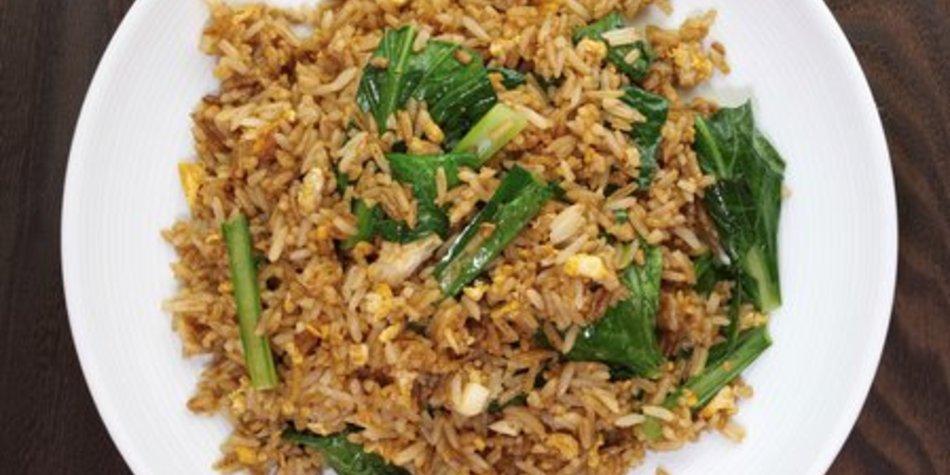 Gebratener Reis chinesisch
