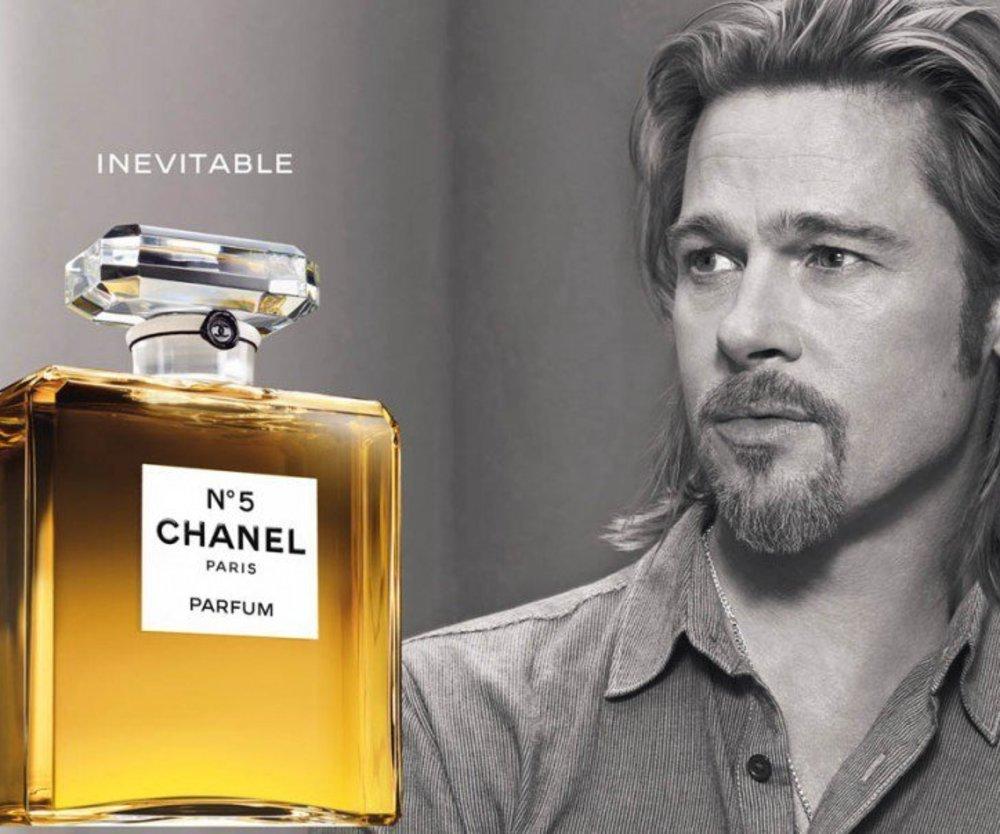 Karl Lagerfeld findet Werbung mit Brad Pitt misslungen