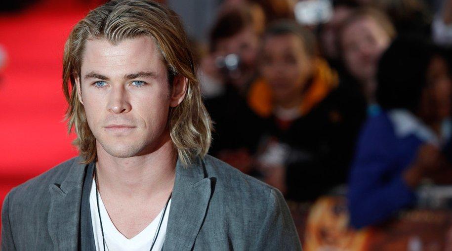 Chris Hemsworth auf der Hunger Games-Premiere