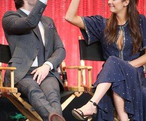 Ian Somerhalder und Nina Dobrev haben Spaß nach dem Dreh