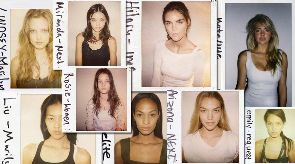 Polaroids der Models