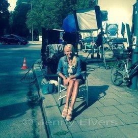 Jenny Elvers arbeitet wieder