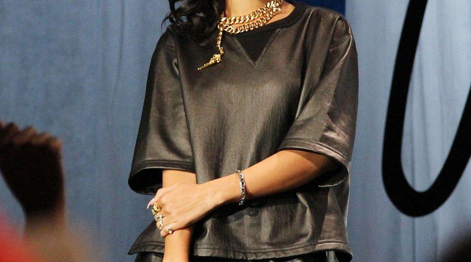 Rihanna: Heiratet Chris Brown Karrueche Tran?
