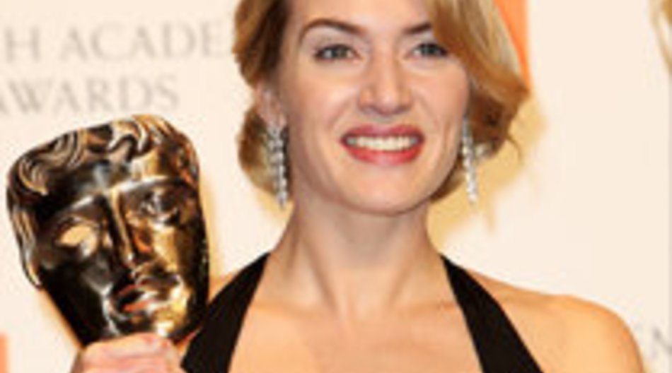 BAFTA in London: Kate Winslet strahlt!