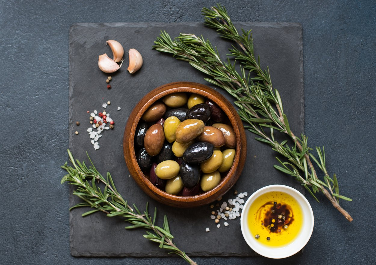 Blähende Lebensmittel Oliven