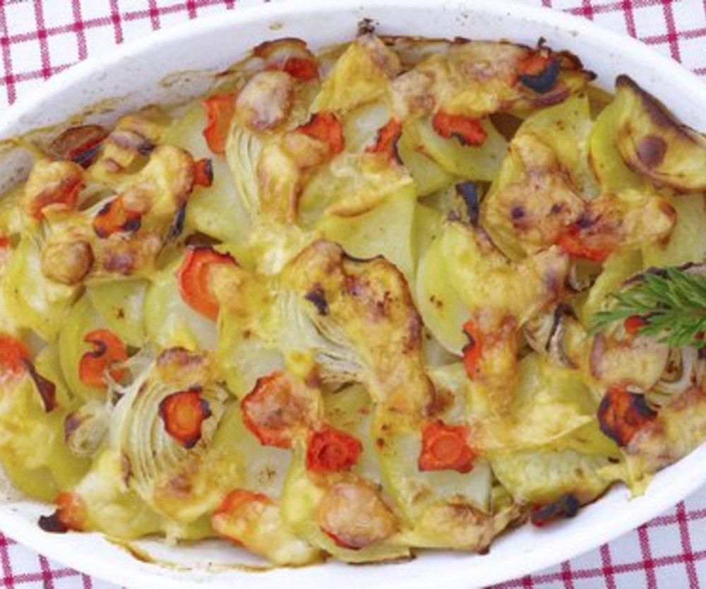 Kartoffel Gemüseauflauf