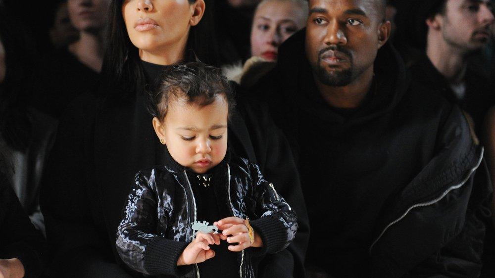 Kim Kardashian lässt North West taufen