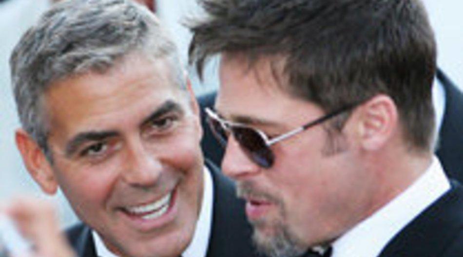 Brangelina: Treffen mit George Clooney und Elisabetta