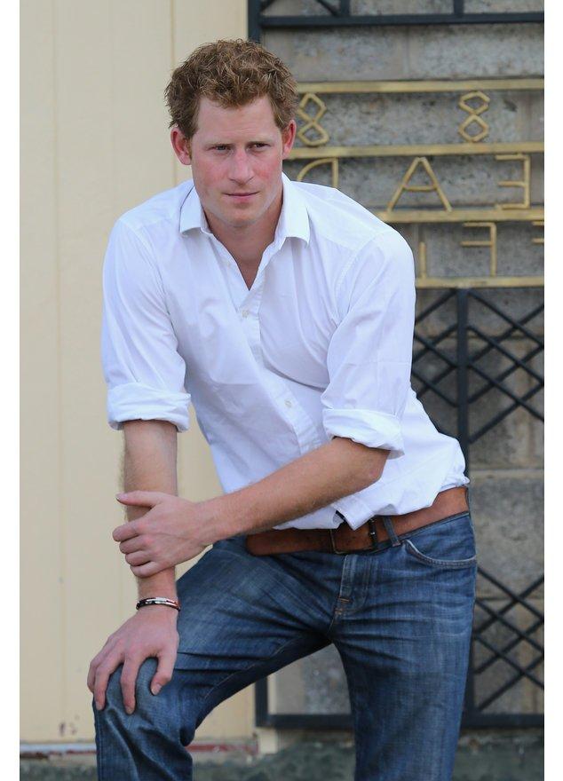 Prinz Harry bei einem offiziellen Termin