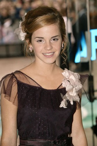 Emma Watson bei der Premiere 2004
