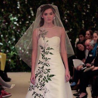 Brautmode: In New York zeigen Designer Träume in weiß