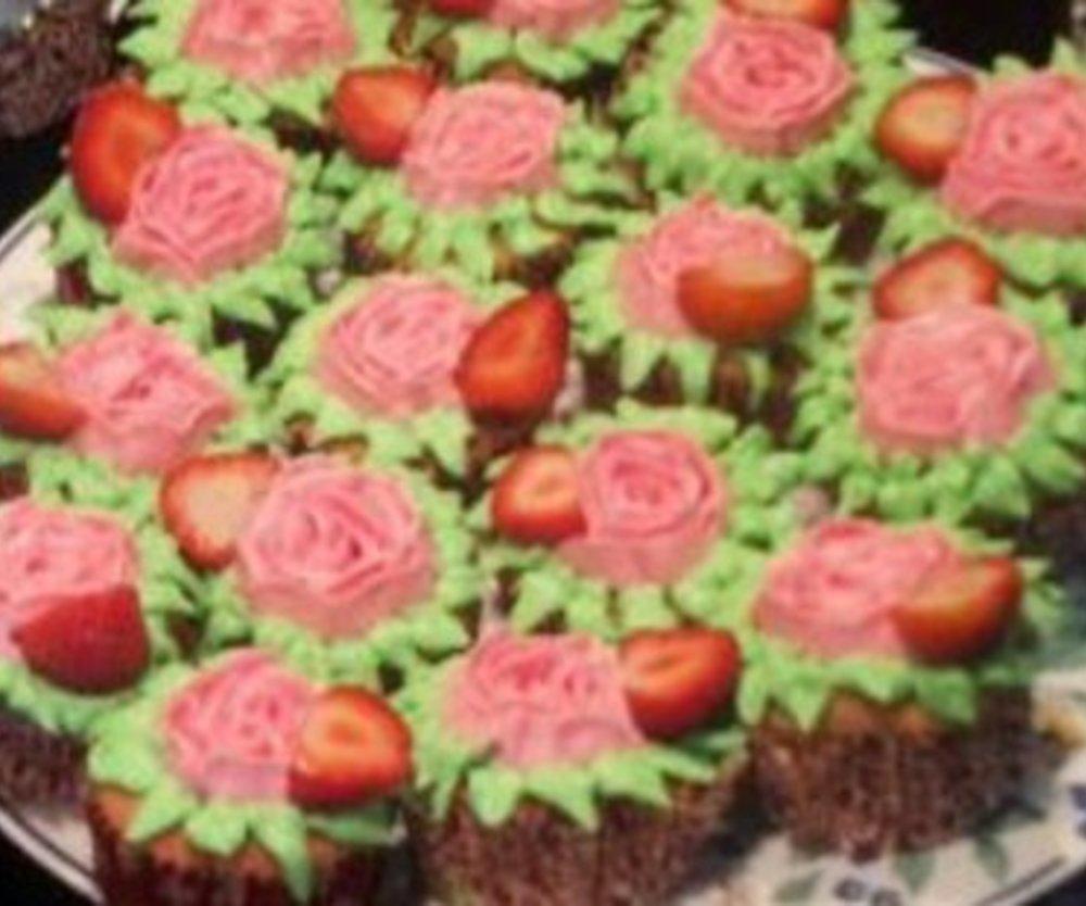 Erdbeer Muffins mit VERPOORTEN ORIGINAL Eierlikör