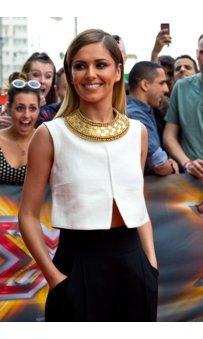 Cheryl Cole bei den Aufnamen zu X-Factor