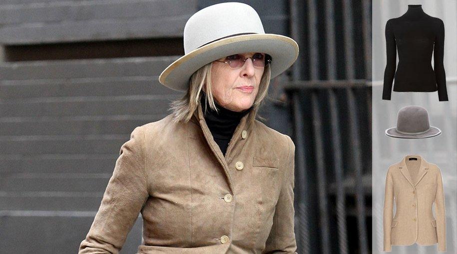 Best dressed: Diane Keaton