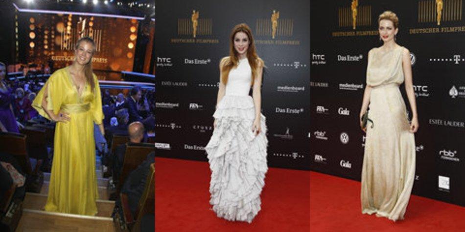 Deutscher Filmpreis 2012: Die Kleider