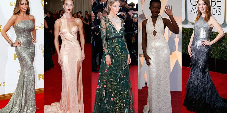 Sofia Vergara, Poppy Delevingne, Rosie Huntington-Whiteley, Lupita Nyong'o, Julianne Moore
