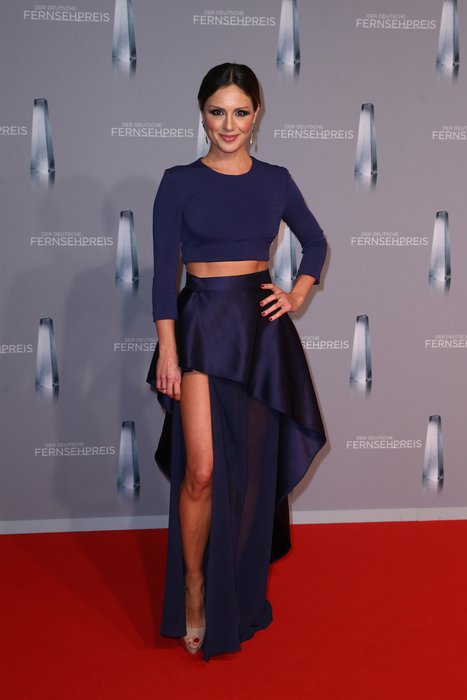 DUESSELDORF, GERMANY - JANUARY 13: Nazan Eckes attends the German Television Award (Der Deutsche Filmpreis 2016) at Rheinterrasse on January 13, 2016 in Duesseldorf, Germany. (Photo by Mathis Wienand/Getty Images)