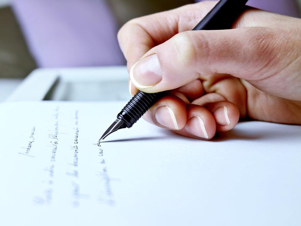 Schreiben einen an einen freund brief Wie Schreibt