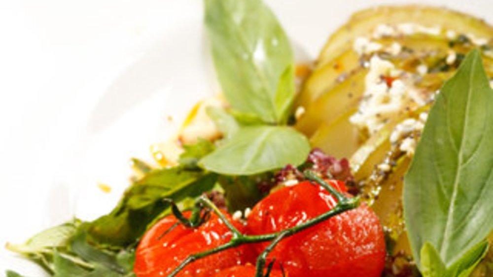 Chicoree-Salat mit Birne