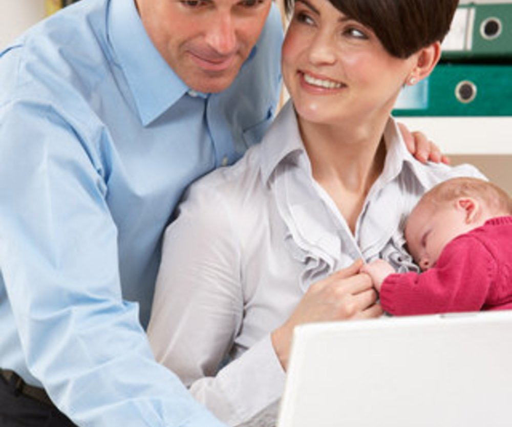 Väter arbeiten länger