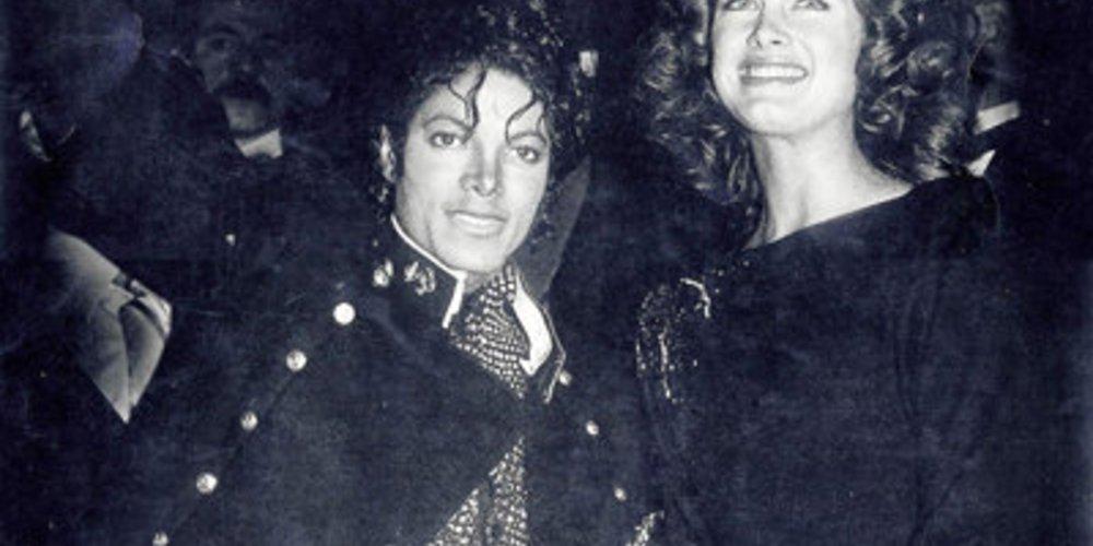 Michael Jackson und Brooke Shields