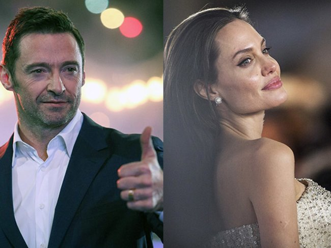 Angelina Jolie und Hugh Jackman