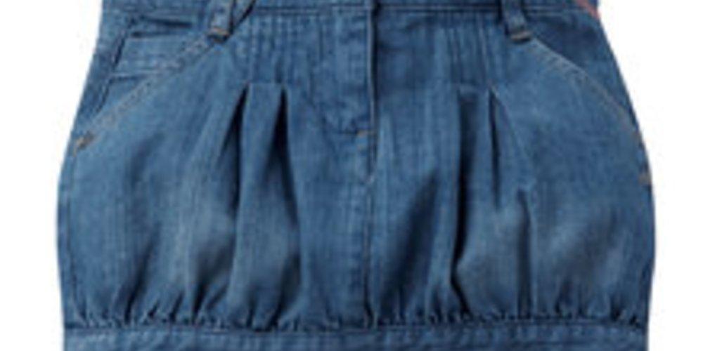 Vertbaudet Jeansrock in Blau