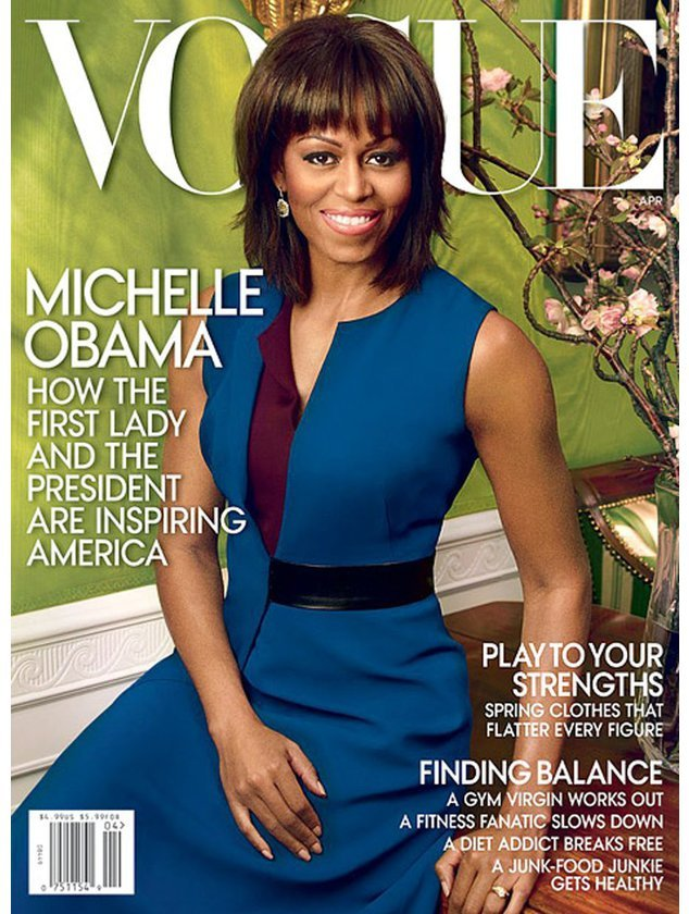 Michelle Obama auf der Vogue