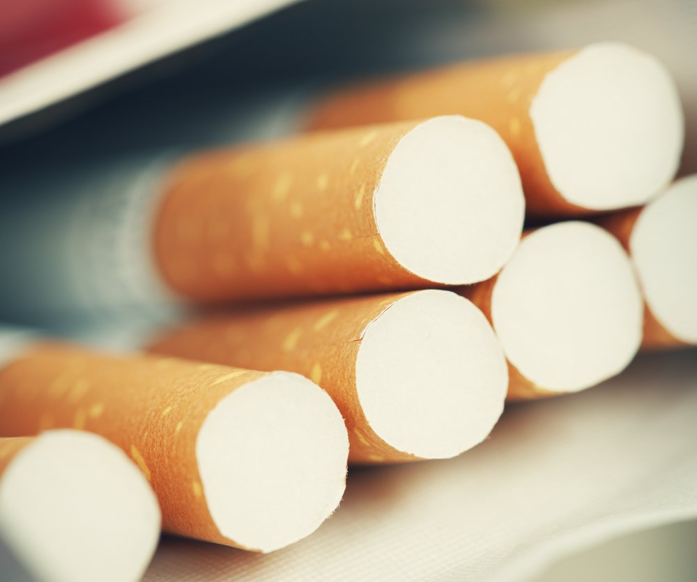 Cigarette Pack - shallow depth of field - Adobe RGB