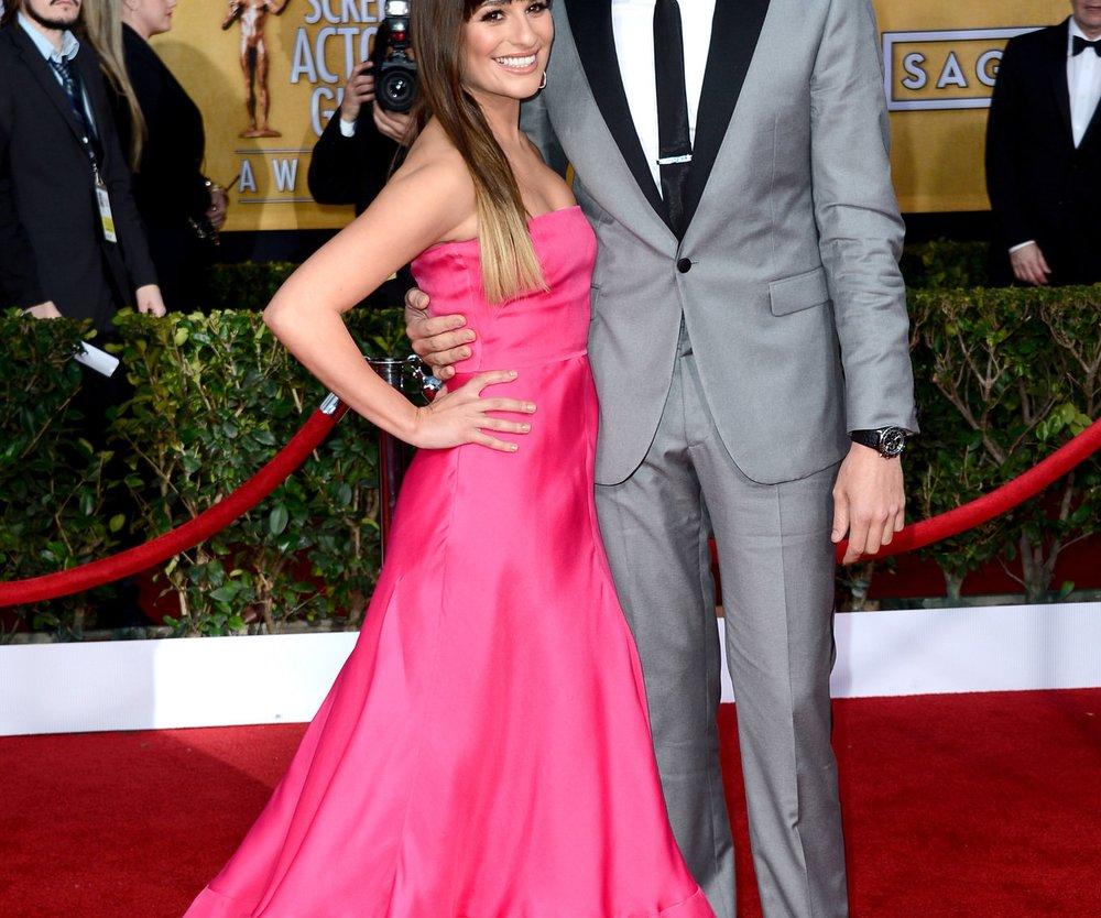 Lea Michele stärkt ihren Freund