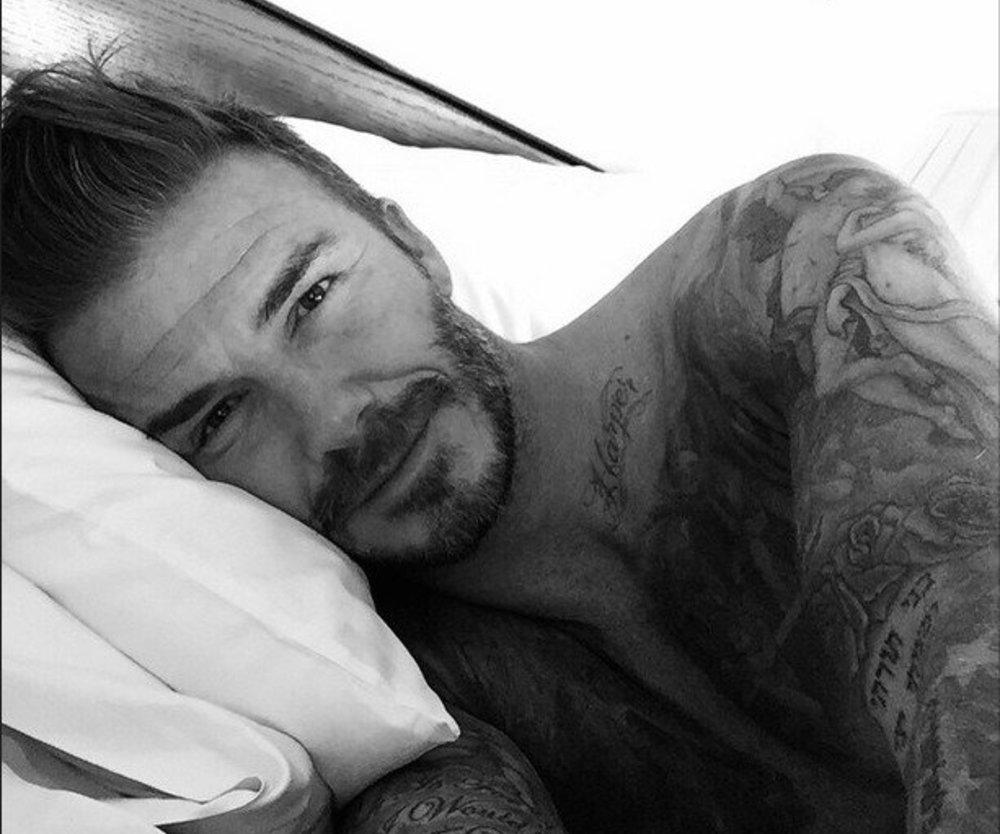 David Beckham erobert zum Geburtstag Instagram