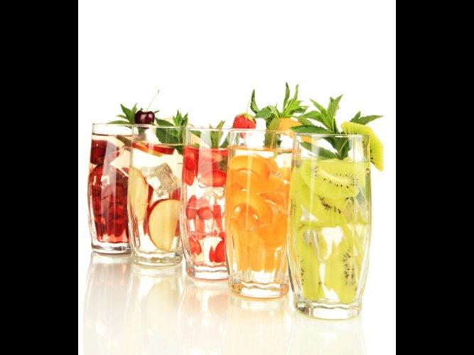 Frucht-Drinks