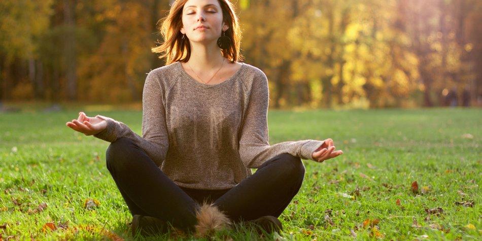 Wie meditiert man