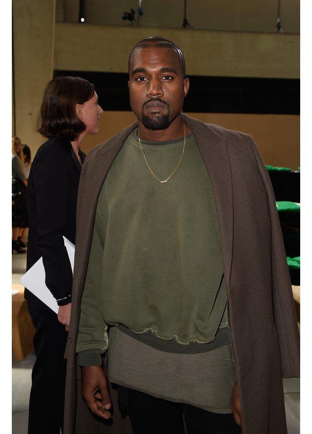 Kanye West auf der Pariser Fashion Week