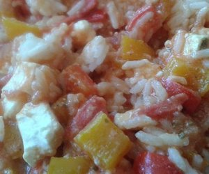 Reispfanne Vegetarisch