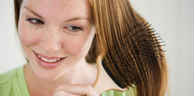 Keine Sorge bei Haarausfall nach der Schwangerschaft.