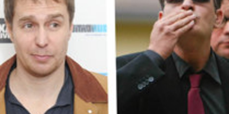 Charlie Sheen: Sam Rockwell als Ersatz?