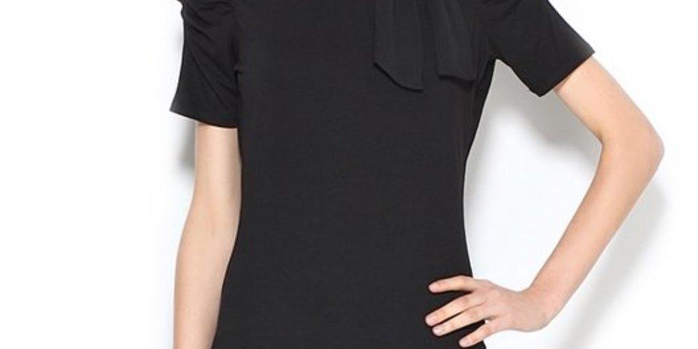 Schwarzes Business-Shirt von Orsay