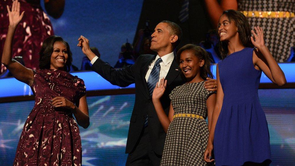 Barack Obama: Seine Töchter gehen auf eine Sex- und Drogen-Schule