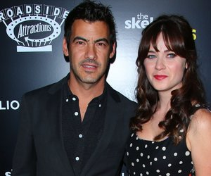 HOLLYWOOD, CA - SEPTEMBER 10: Jacob Pechenik (L) and Zooey Deschanel attend the premiere of Roadside Attractions 'The Skeleton Twins' at the ArcLight Hollywood on September 10, 2014 in Hollywood, California. (Photo by Mark Davis/Getty Images)
