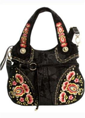 Die Tasche Bibi aus der Flower Jacquard Kollektion