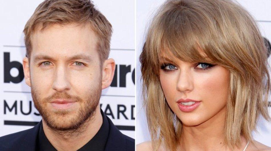 Taylor Swift und der DJ Calvin Harris sind ein Jahr zusammen.
